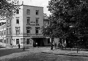 9e155945dde68a Schwarzes Roß (vielleicht um 1925)